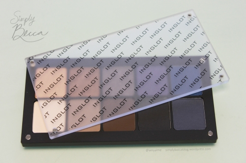 Inglot Freedom System 10 Eye Shadow Square Palette