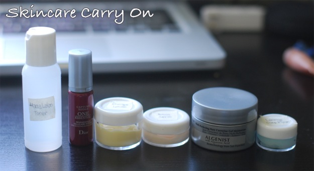 carry on - skincare