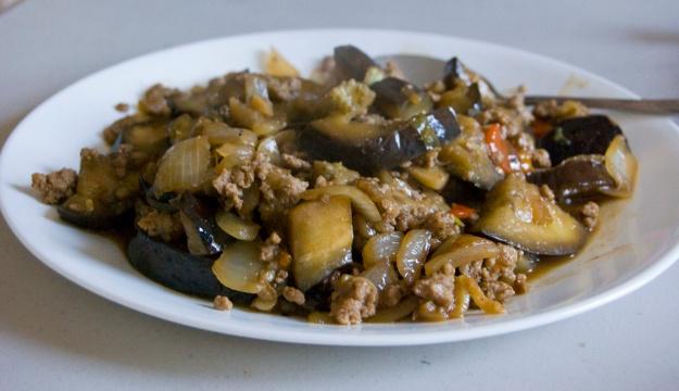 Cooked Eggplants
